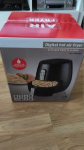 1400W 5.2L Multifunctional Air Fryer Smart Touch Cooker photo review